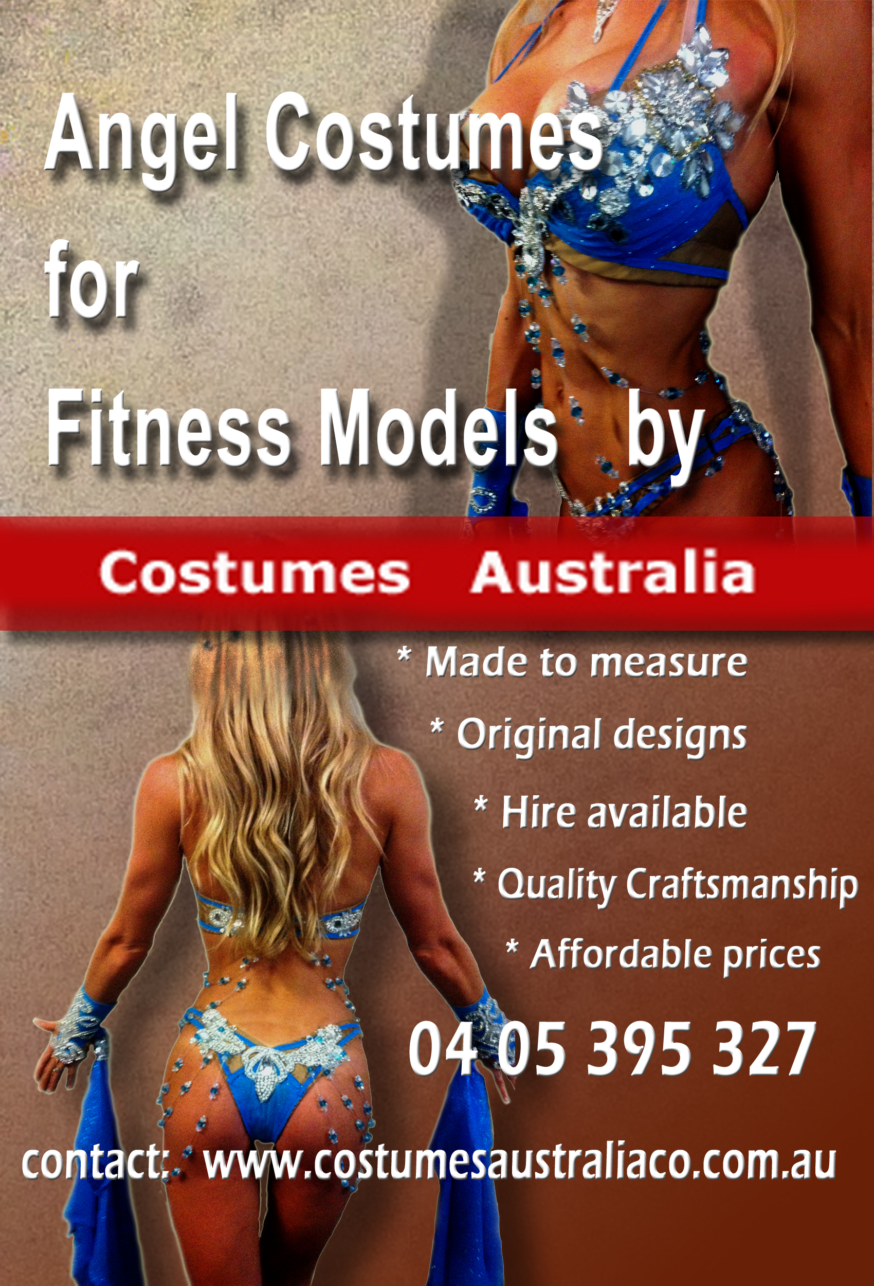 Launch of Angel Fitness Model Line for Costumes Australia Co