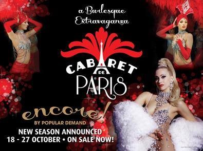 Marissa Burgess Cabaret De Paris Crowne Casino Melbourne