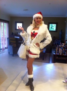 Marissa Burgess Mrs Santa Claus hosting
