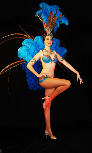 Turquoise Showgirl 1