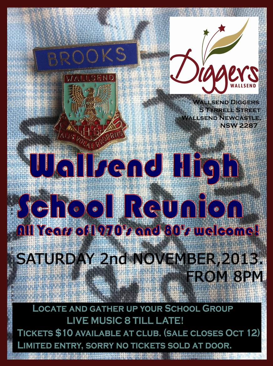 Marissa Burgess Creative Production Wallsend High School Reunion Art